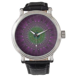 Purple Eye Fractal Watch