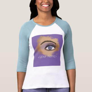 Purple Eye Makeup Shirts