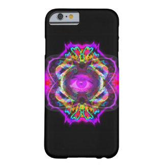 Purple eye mandala barely there iPhone 6 case