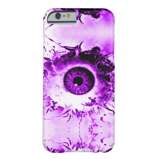 Purple Eye Watcher Horror Show Barely There iPhone 6 Case