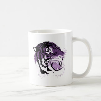 Purple Faced Tiger Coffee Mug