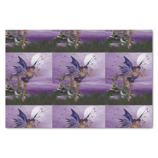 Purple Fae Tissue Paper
