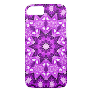 Purple Faerie Flower Fractal iPhone 7 Case