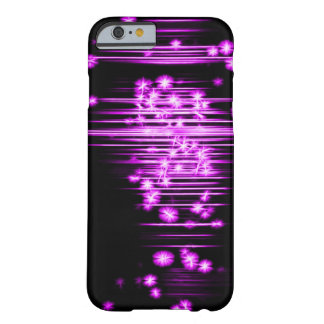 Purple Faerie Lights Fractal Art Barely There iPhone 6 Case
