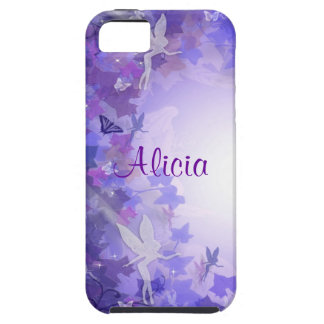 Purple fairies Iphone case