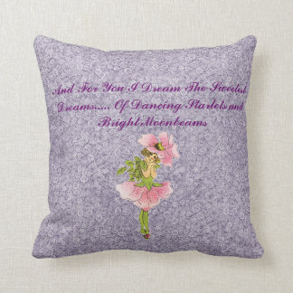 Purple Fairy Pillow