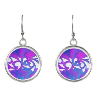 Purple Fantasy Earrings
