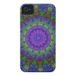 Purple Fantasy mandala Blackberry Bold case