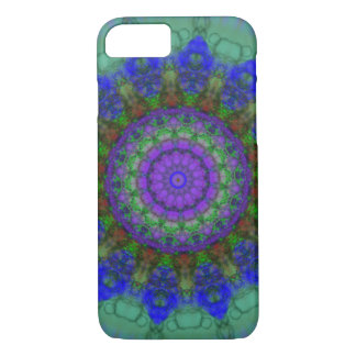 Purple Fantasy mandala iPhone 7 case