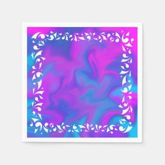 Purple Fantasy Napkin Disposable Napkins