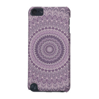Purple feather mandala iPod touch (5th generation) covers
