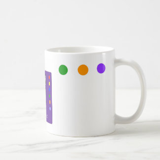 Purple Feralartist Color Wheel Mug