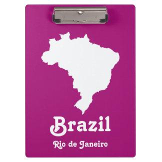 Purple Festive Brazil at Emporio Moffa Clipboards