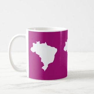 Purple Festive Brazil at Emporio Moffa Coffee Mug
