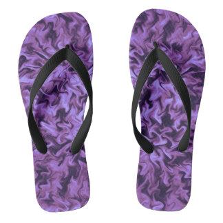 Purple Fire Thongs