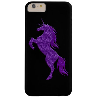 Purple Fire Unicorn iPhone 6 Case