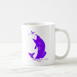 Purple Fish Coffee Mug