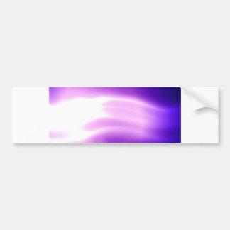 Purple Flash Bumper Sticker