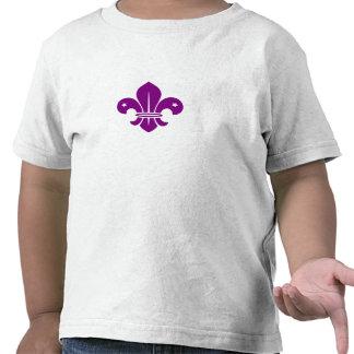 Purple Fleur De Lis Shirts