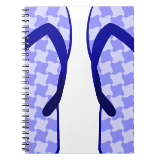 Purple Flip Flops Notebook