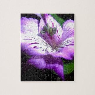 Purple Flora Jigsaw Puzzle