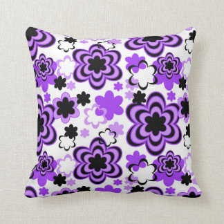 Purple Floral Abstract Teen Girl Cushions