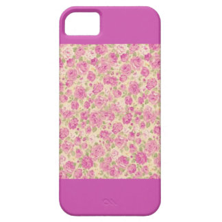 Purple Floral Case iPhone 5 Covers