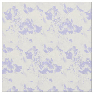 Purple floral design for Fabric