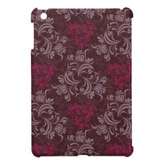 Purple Floral Design iPad Mini Cases