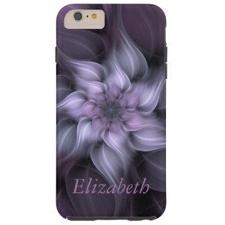 Purple Floral Fractal iPhone Case
