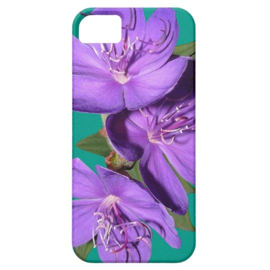 Purple Floral phone case
