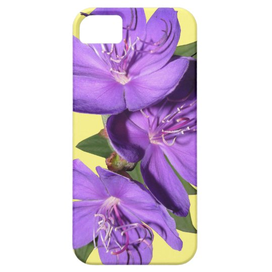 Purple Floral phone case