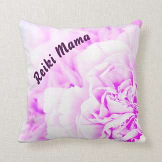 Purple floral Reiki Mama Cushion