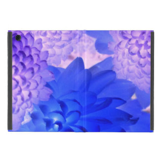 Purple Floral Tablet Case Cover For iPad Mini