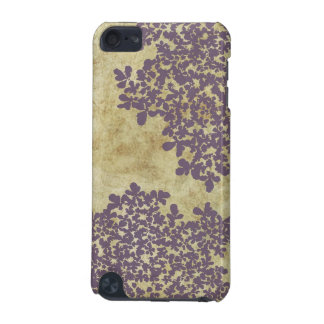 Purple Floral Vintage Ipod case