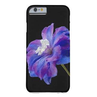 Purple Flower Barely There iPhone 6 Case