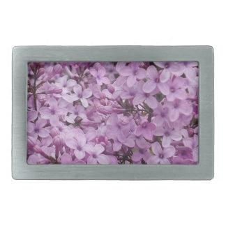 Purple Flower Belt Buckle