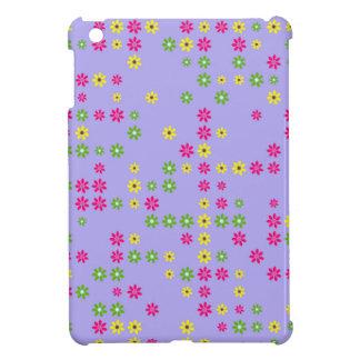 Purple Flower Confetti Cover For The iPad Mini