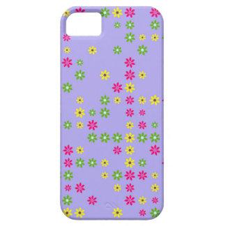 Purple Flower Confetti iPhone 5 Case