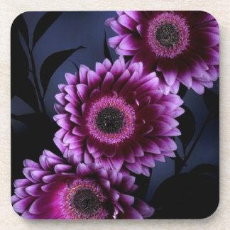 Purple Flower Beverage Coaster
