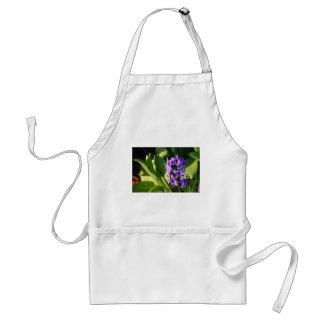 Purple Flower Delight Standard Apron