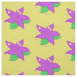 Purple Flower FABRIC