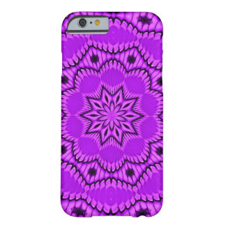 Purple Flower Fireworks Abstract Barely There iPhone 6 Case