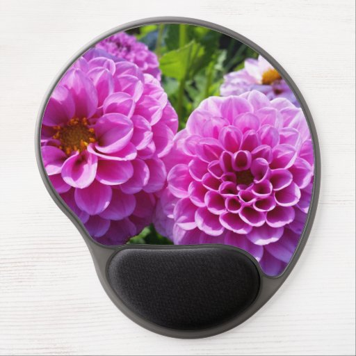 Purple Flower Gel Mouse Pads