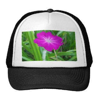 Purple Flower Hat