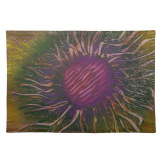 Purple Flower Head Placemat