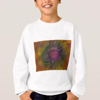 Purple Flower Head Sweatshirt