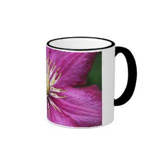 Purple flower in bloom during Spring Coffee Mugs