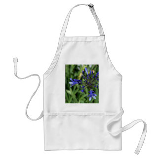Purple Flower In Grass Aprons