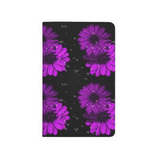 Purple flower journal
